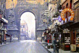 100年前のパリ