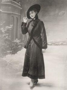 100年前のパリジェンヌ